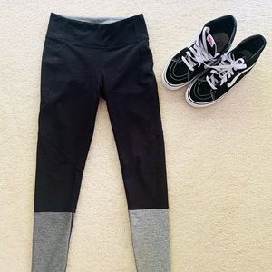 Outdoor Voices leggings S charcoal / light gray